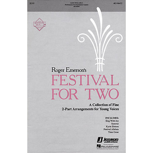 Hal Leonard Festival for Two (Collection) 2-Part composed by Roger Emerson