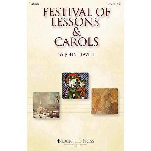 Brookfield Festival of Lessons & Carols (SATB) SATB arranged by John Leavitt