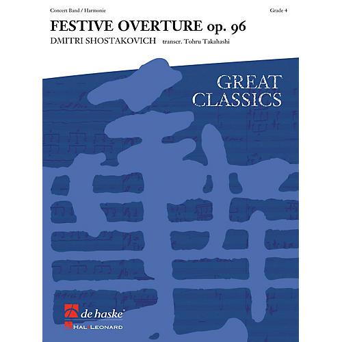 Hal Leonard Festive Overture Score Only Concert Band