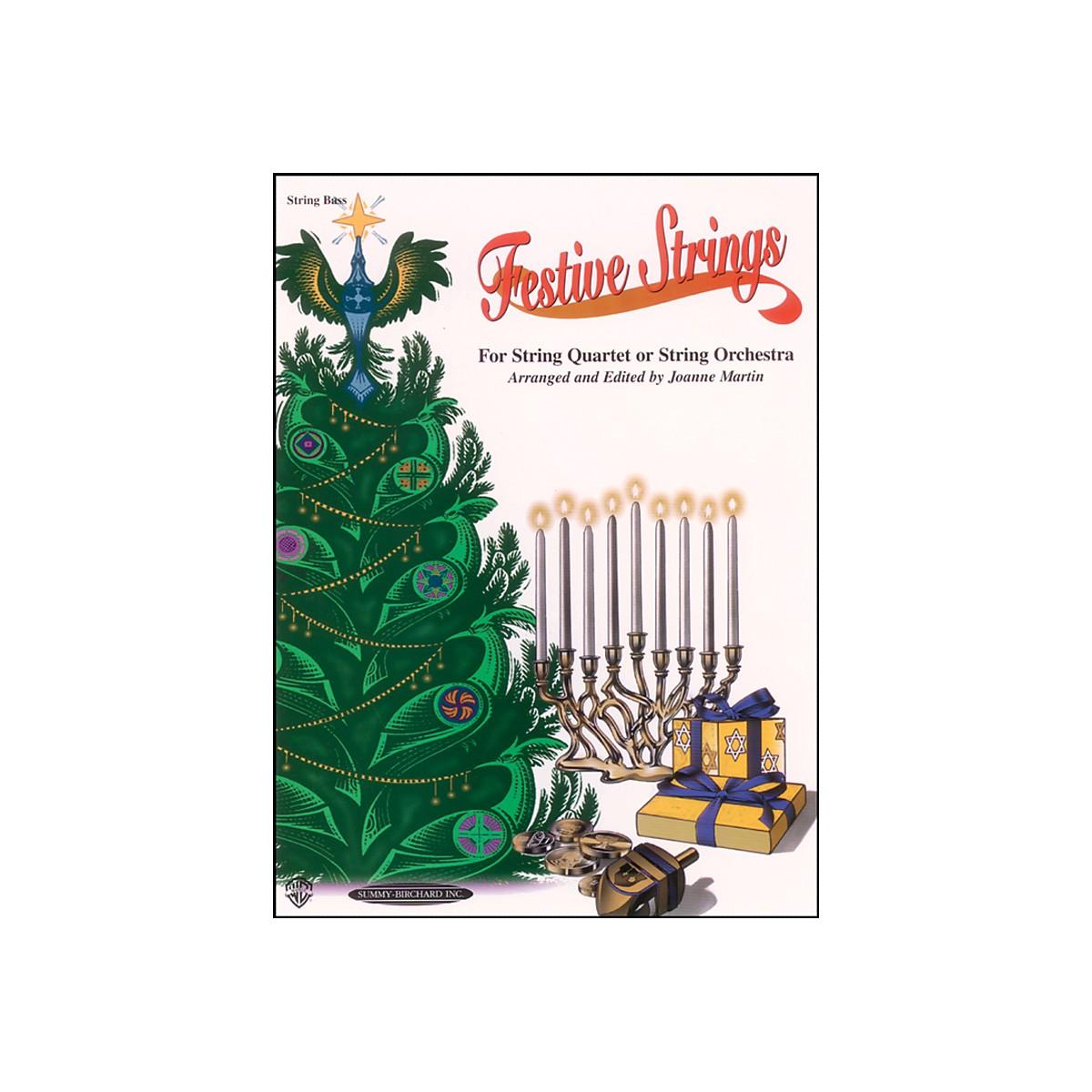 Alfred Festive Strings Bass (Book)