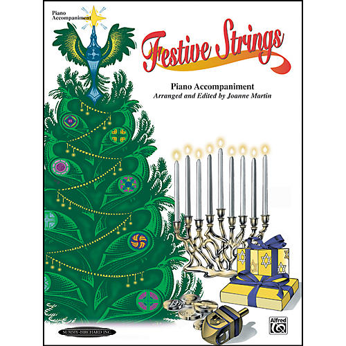 Alfred Festive Strings Piano Accompaniment (Book)