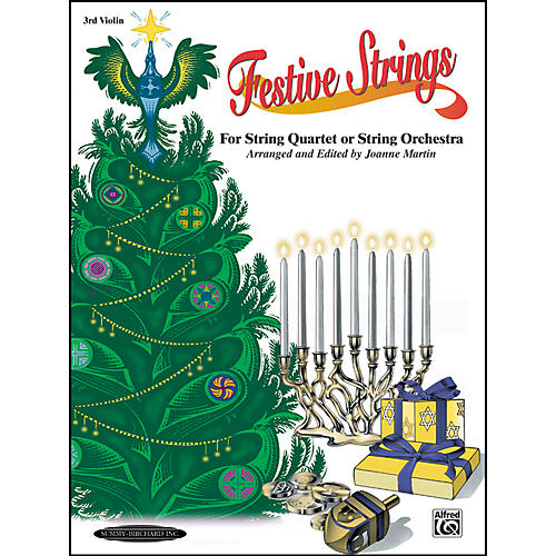 Summy-Birchard Festive Strings for String Quartet or String Orchestra 3rd Violin Part