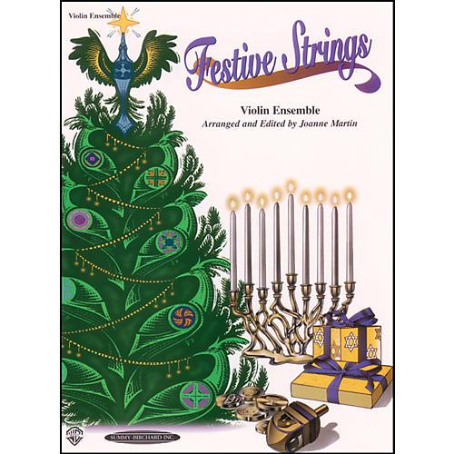 Alfred Festive Strings for Violin Ensemble (Book)