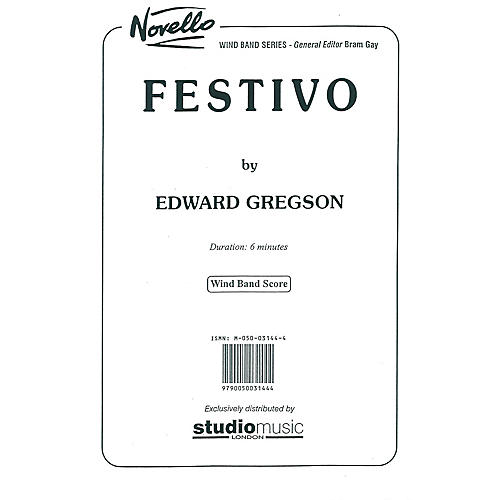 Studio Music London Festivo Concert Band Composed by Edward Gregson