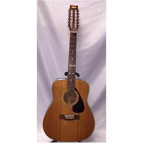 used yamaha fg 312 12 string acoustic guitar natural guitar center. Black Bedroom Furniture Sets. Home Design Ideas