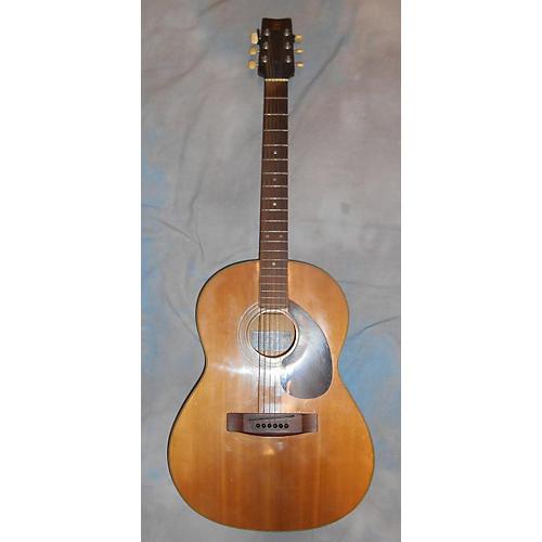 Yamaha Fg-75 Black Label Tawain Acoustic Guitar