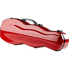 Fiberglass Gourd Shaped Violin Case 4/4 Red