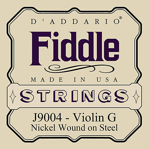 D'Addario Fiddle Series Violin G String