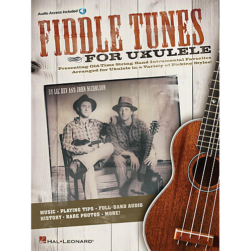 Hal Leonard Fiddle Tunes for Ukulele Ukulele Series Softcover Audio Online Written by Lil' Rev