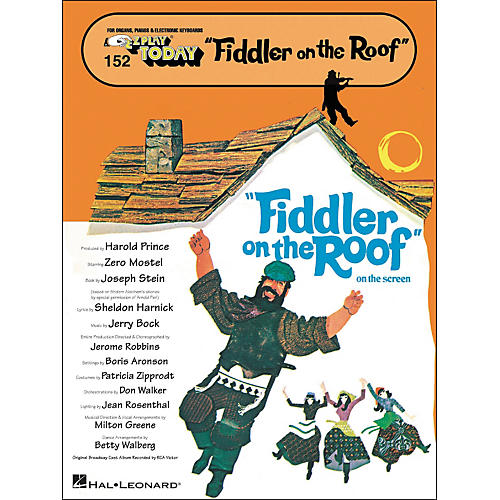 Hal Leonard Fiddler On The Roof E-Z Play 152
