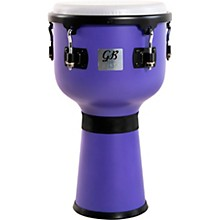 Fiesta Colored Djembe Ultra Violet