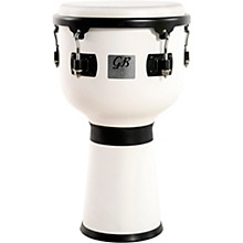 Fiesta Colored Djembe White Magic