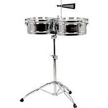 Fiesta Series Timbale Set 13 and 14 in. Chrome