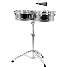 Fiesta Series Timbale Set 14 in./15 in. Chrome