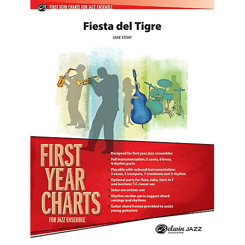 Alfred Fiesta del Tigre Jazz Band Grade 1 Set