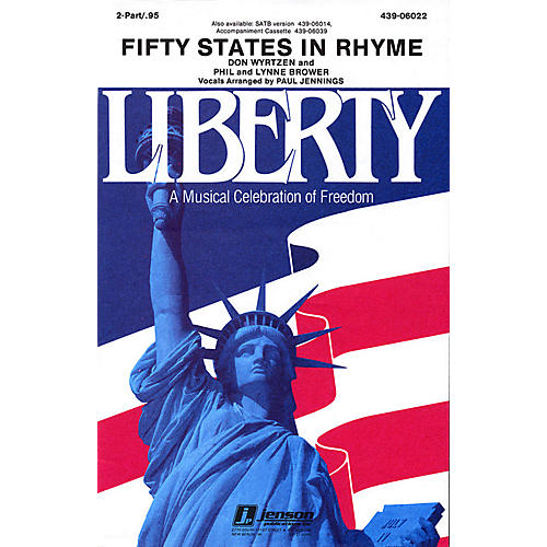 Hal Leonard Fifty States in Rhyme 2-Part
