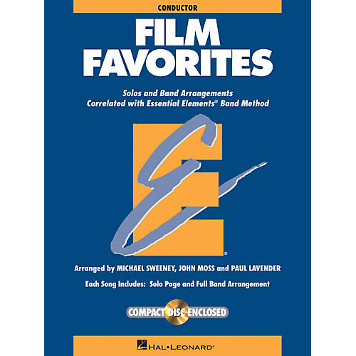 Hal Leonard Film Favorites - Value Pak Concert Band Level 1-1.5 Arranged by Michael Sweeney