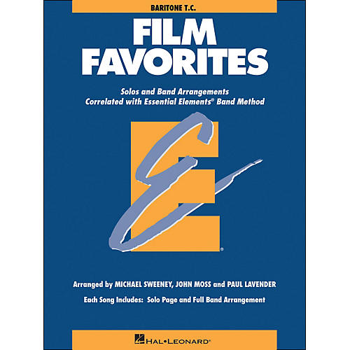 Hal Leonard Film Favorites Baritone T.C.