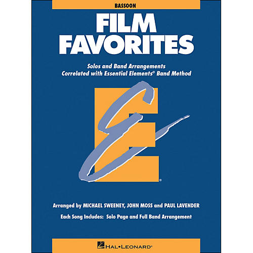 Hal Leonard Film Favorites Bassoon