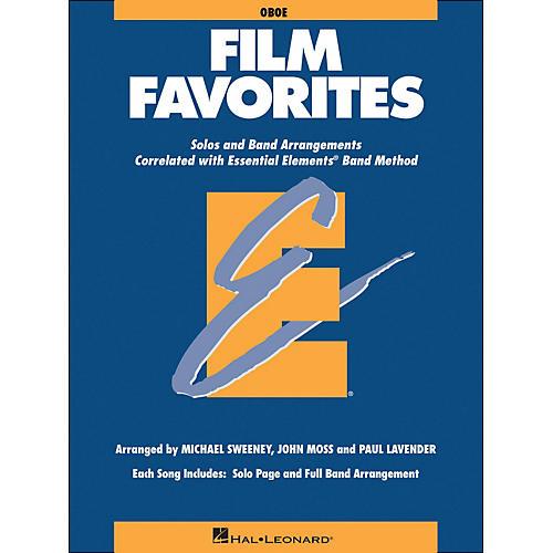 Hal Leonard Film Favorites Oboe