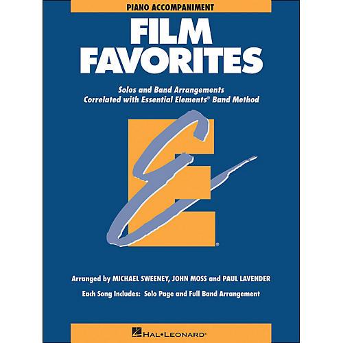 Hal Leonard Film Favorites Piano Accompaniment