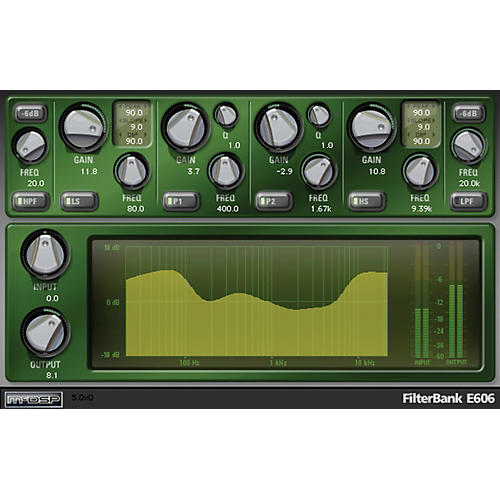 McDSP FilterBank Native v6 Software Download