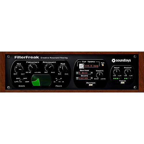 Soundtoys FilterFreak 5 Software Download