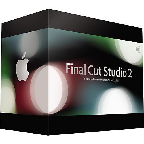 Apple Final Cut Studio 2 Upgrade