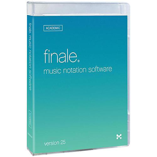 Makemusic Finale 25 Academic