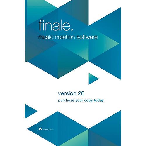 Makemusic Finale Music Notation Software V26 Trade Up Dealer Download General