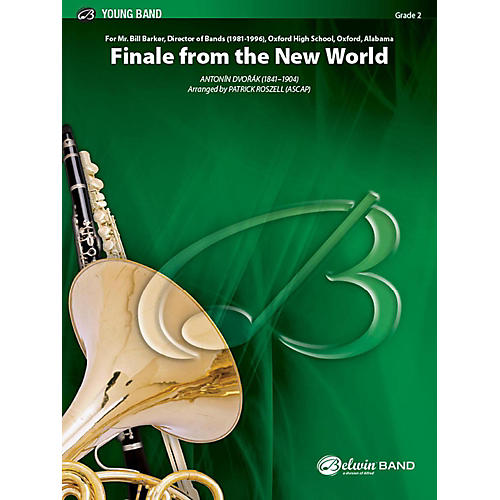 Alfred Finale from The New World Concert Band Grade 2 Set