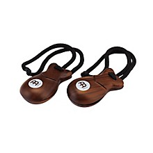 Finger Castanets Pair Rosewood Traditional