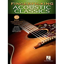 Hal Leonard Fingerpicking Acoustic Classics - 15 Songs Arr. For Solo Gtr In Standard Notation & Tab