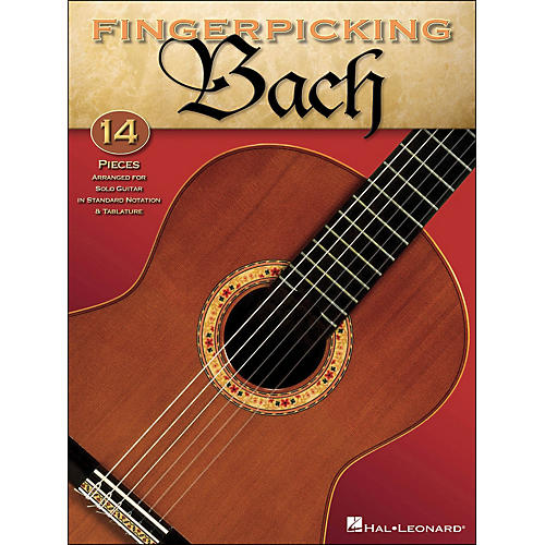 Hal Leonard Fingerpicking Bach Solo Guitar