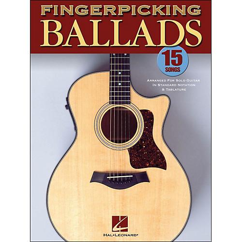 Hal Leonard Fingerpicking Ballads Solo Guitar