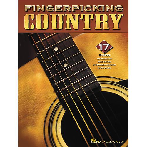 Hal Leonard Fingerpicking Country Guitar Tab Songbook