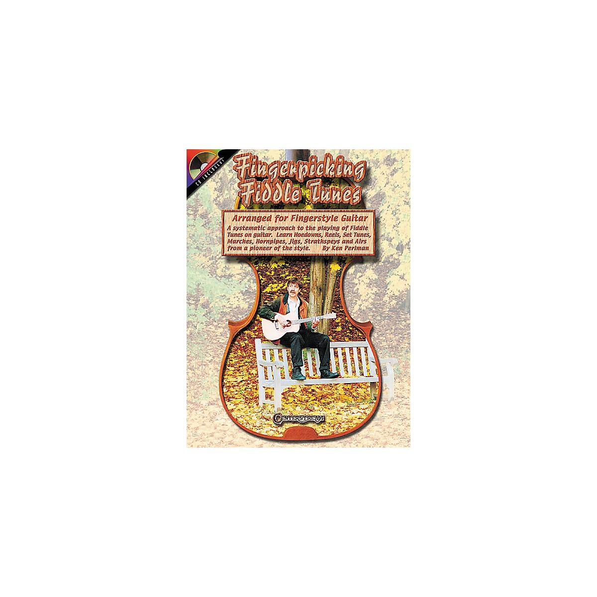 Centerstream Publishing Fingerpicking Fiddle Tunes for Guitar (Book/CD)
