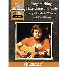 Homespun Fingerpicking, Flatpicking and Slide (Book/CD)