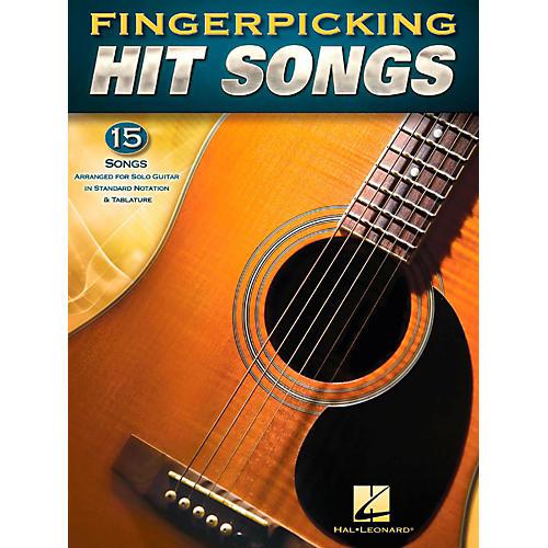Hal Leonard Fingerpicking Hit Songs - 15 Popular Tunes Arr. for Solo Gtr in Standard Notation & Tab