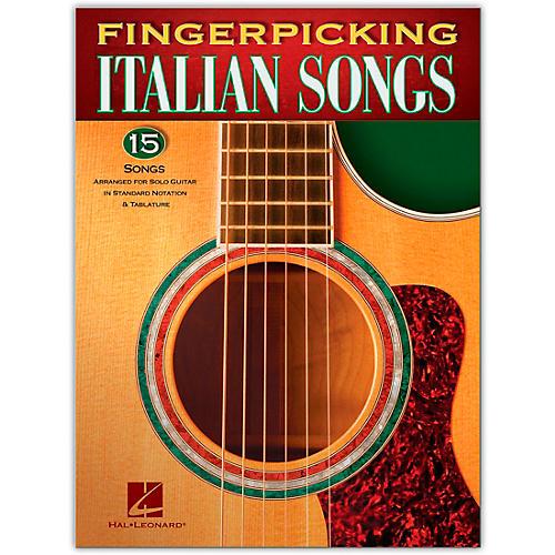 Hal Leonard Fingerpicking Italian Songs for Solo Guitar