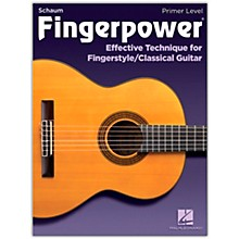 SCHAUM Fingerpower - Primer Level Effective Technique for Fingerstyle/Classical Guitar