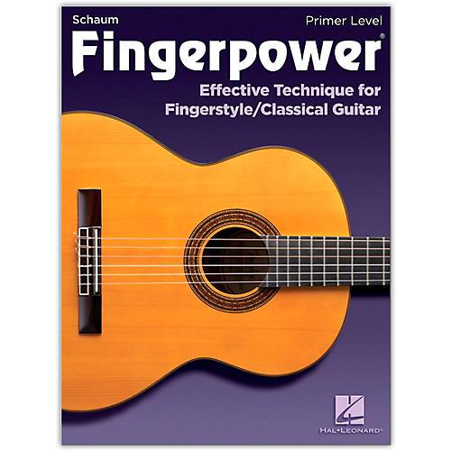 SCHAUM Fingerpower - Primer Level Effective Technique for Fingerstyle/Classical Guitar