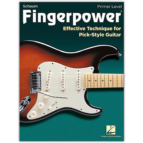 SCHAUM Fingerpower - Primer Level Effective Technique for Pick-Style Guitar