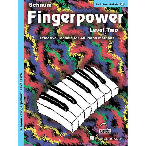 SCHAUM Fingerpower Educational Piano Series, Level 2 by John W. Schaum (Book/CD)