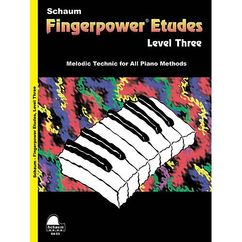 SCHAUM Fingerpower« Etudes Lev 3 Educational Piano Series Softcover