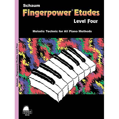 SCHAUM Fingerpower« Etudes Lev 4 Educational Piano Series Softcover