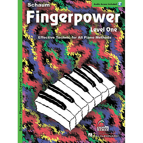 SCHAUM Fingerpower (Level 1 Book/CD Pack) Educational Piano Series Softcover with CD Written by John W. Schaum