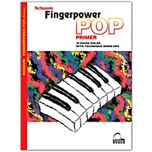 SCHAUM Fingerpower Pop - Primer 10 Piano Solos with Technique Warm-Ups