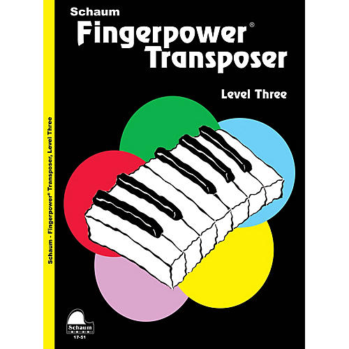 SCHAUM Fingerpower® Transposer Educational Piano Book by Wesley Schaum (Level Early Inter)