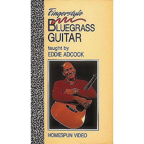 Homespun Fingerstyle Bluegrass Guitar (VHS)